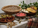 Midwinter Solstice Feast Table